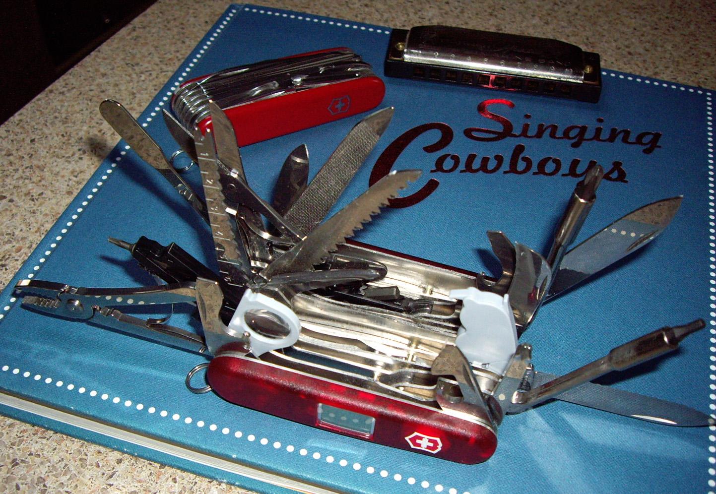 Swiss Army Knife - SwissChamp XAVT, June 14, 2008