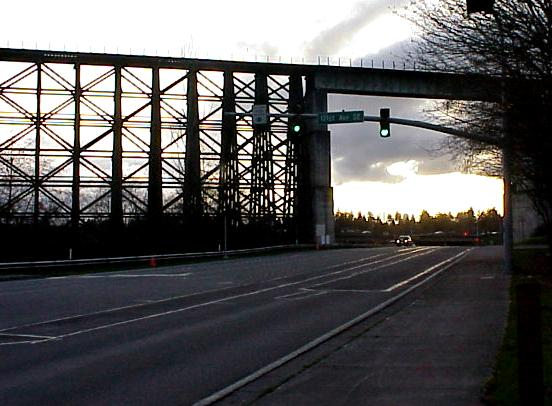 Wilburton Train Trestle March 2001